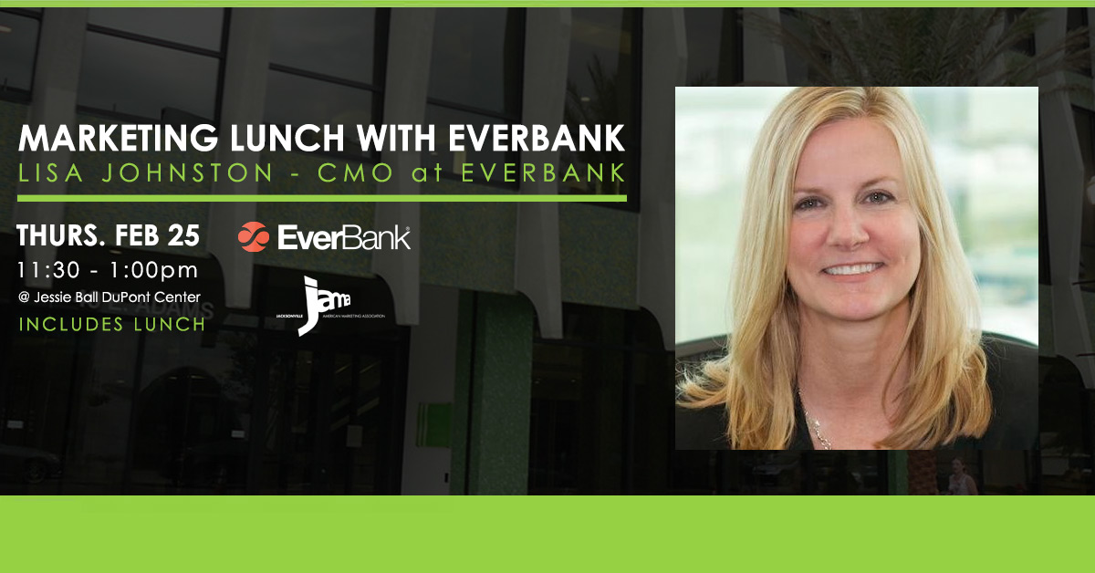 Lisa Johnston - Everbank CMO